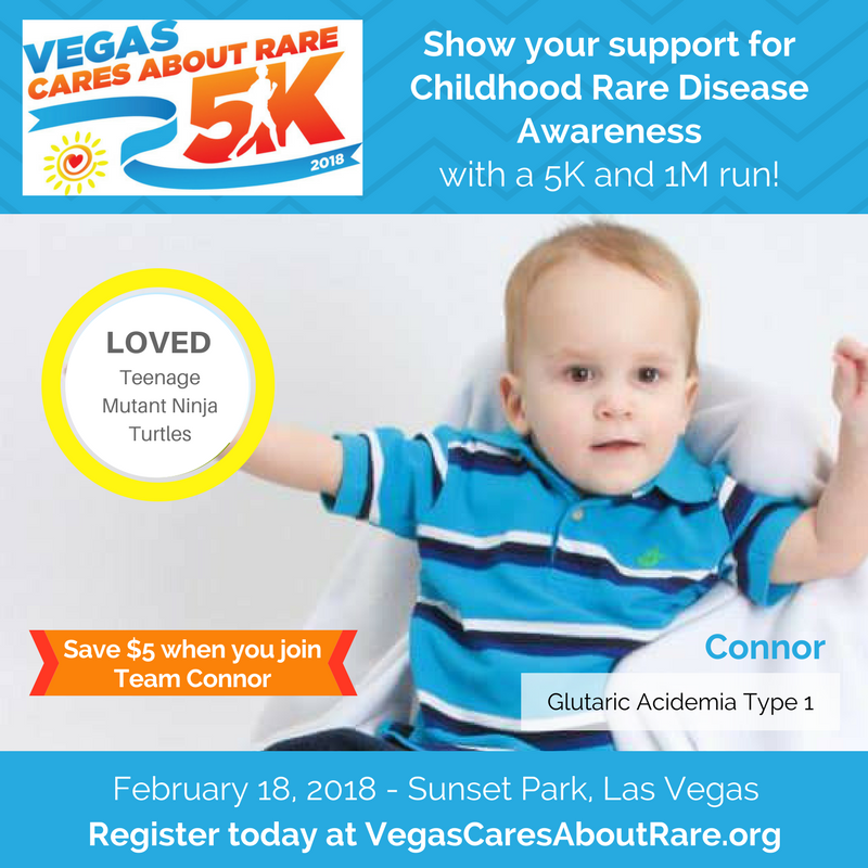 Vegas Rare 5K – Connor