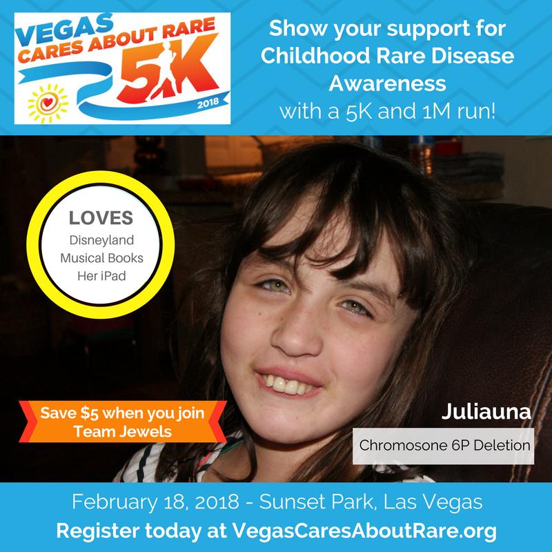 Vegas Rare 5K – Juliauna