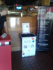 June 7th – TGI Fridays Fundraiser and Media Donation Event