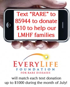 Text to Donate July