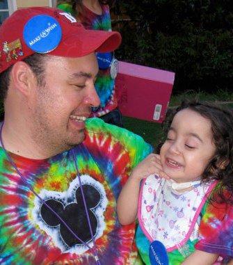 Robert Ostrea and Little Miss Hannah