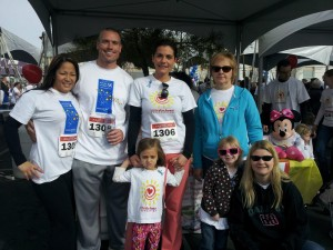 Make-A-Wish Southern Nevada team for Little Miss Hannah Foundation