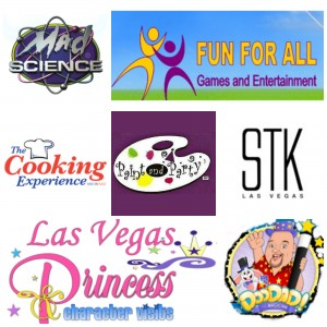 """Just some of the great companies providing activities and games at our upcoming """"Rainbows in the Wind"""" event!"""